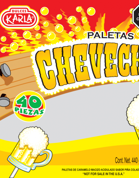 CHEVECHITA  40 PZAS C30 BLS